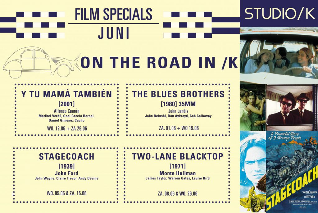 FILM SPECIAL JUNI: ON THE ROAD IN /K