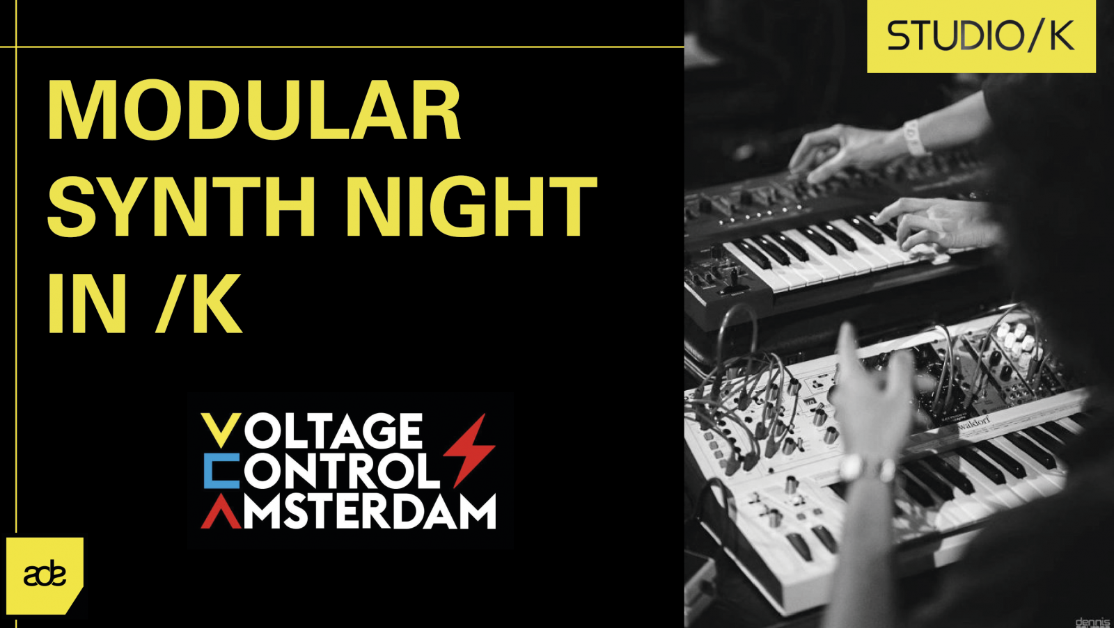 ADE: Modular Synth Night in /K
