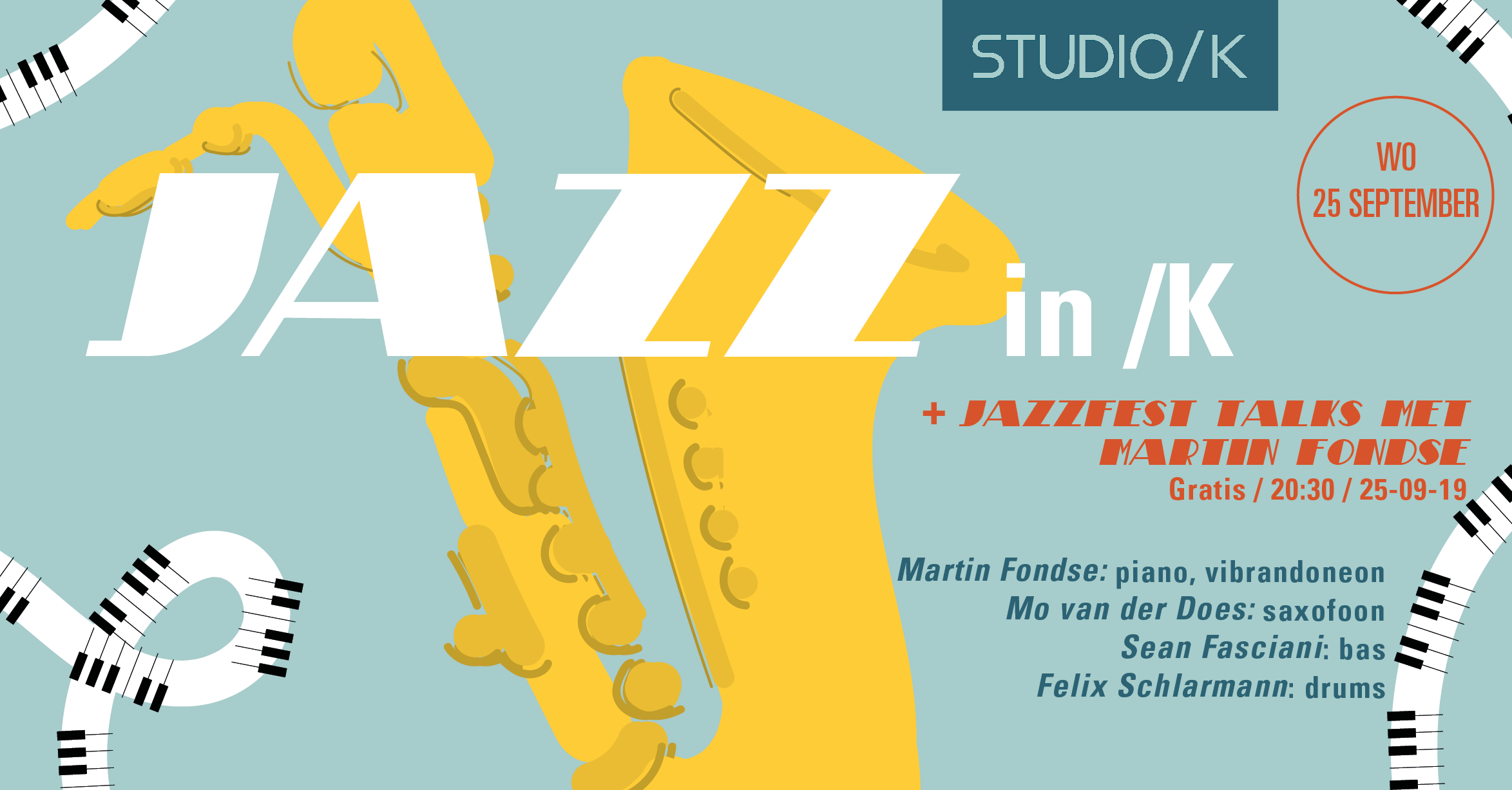 Jazz in /K + JazzFest Talks met Martin Fondse