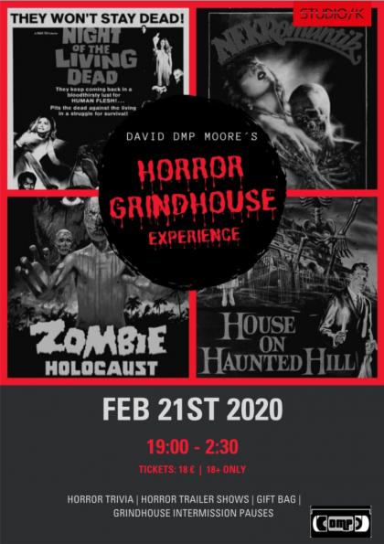 DMP Marathon: Horror Grindhouse Experience