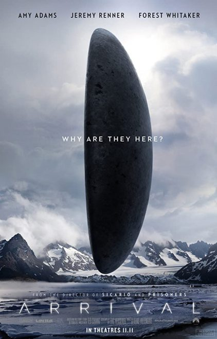 For the Love of Cinema | Arrival