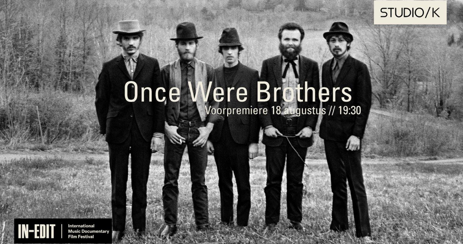 In-Edit on TOUR in /K | Once Were Brothers