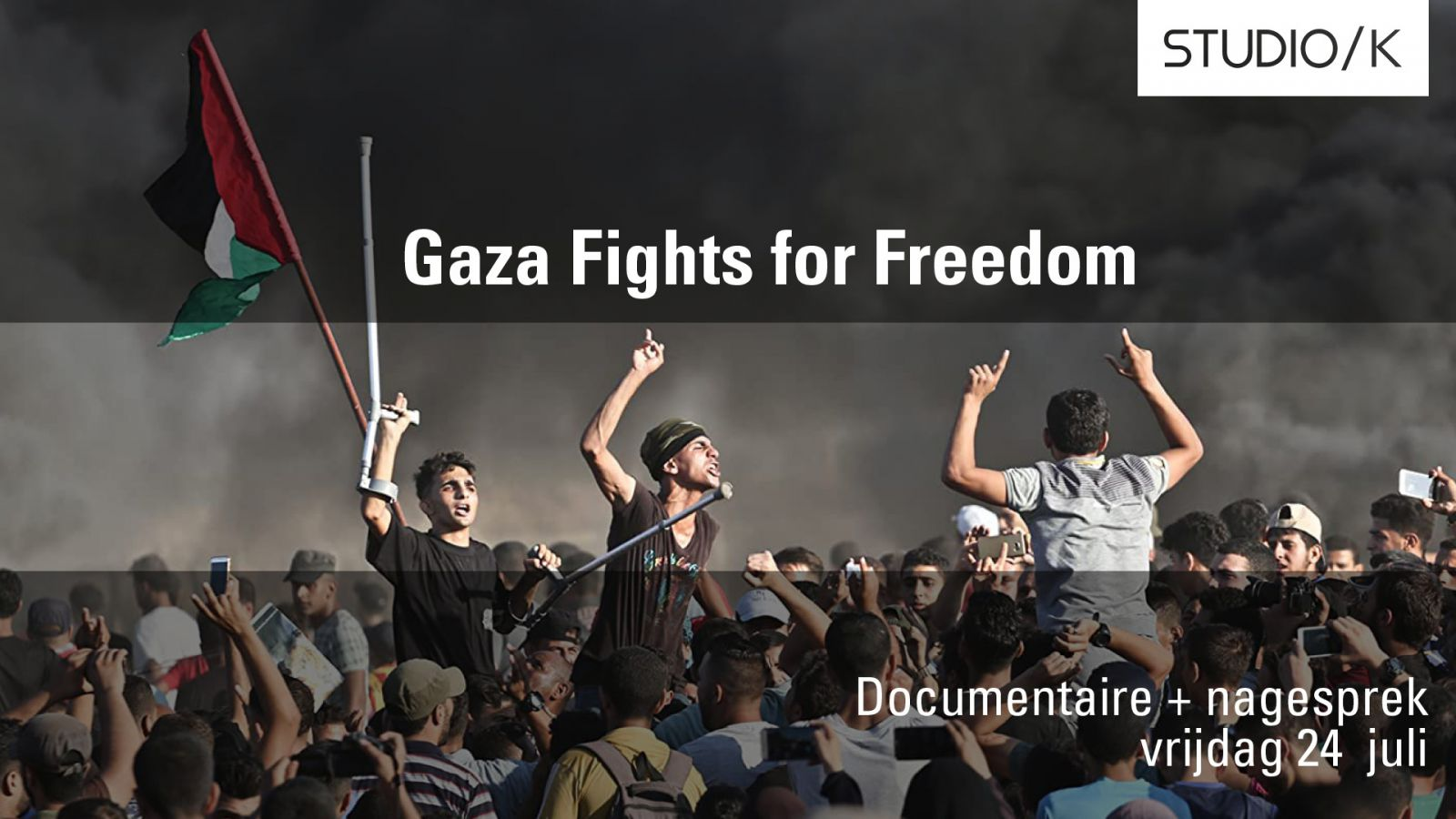 Screening + Q&A: Gaza Fights for Freedom