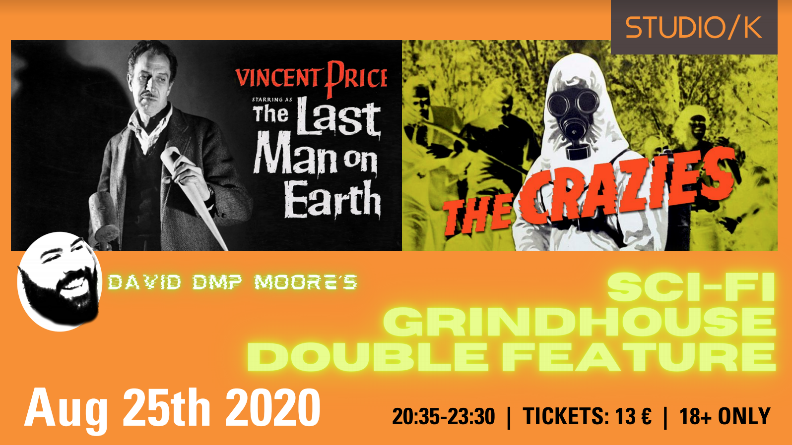 Sci-Fi Grindhouse Double Feature