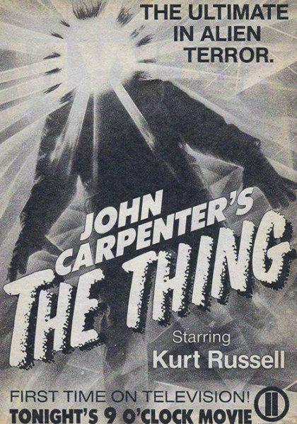 Tribute to John Carpenter: The Thing (1982)