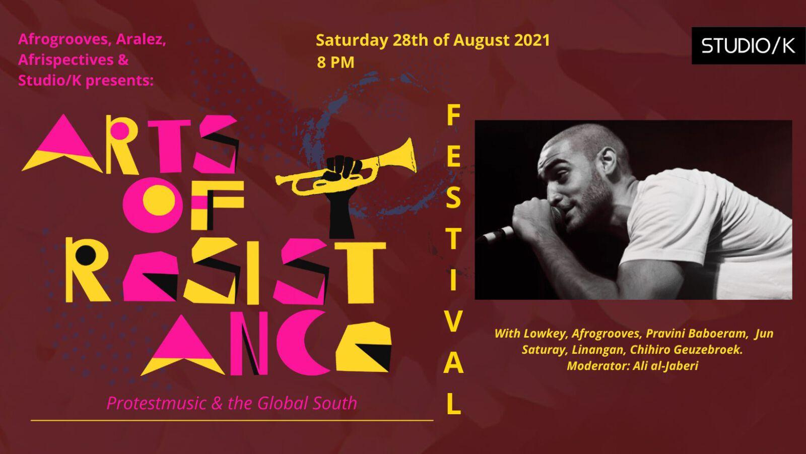 /K invites: Arts of Resistance Festival