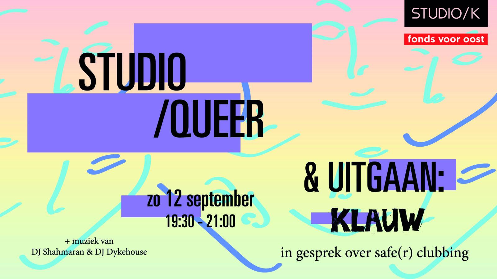 Studio/Queer | Queer & Uitgaan