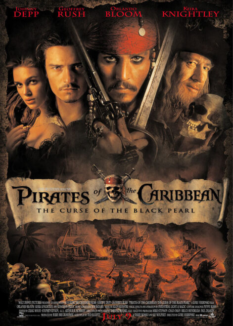 THE DEPTHS   Pirates of the Caribbean: The Curse of the Black Pearl (2003)